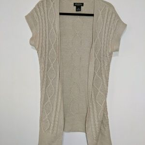 Eddie Bauer Cable Knit Women's Open Front Cardigan